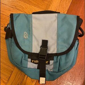Timbuk2 Messenger Bag Teal Purse/Handbag Size